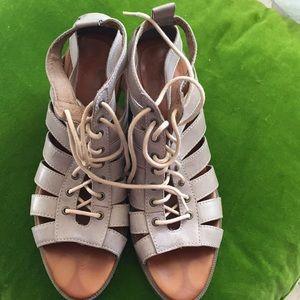 Dr. Martens lace up sandals 9.